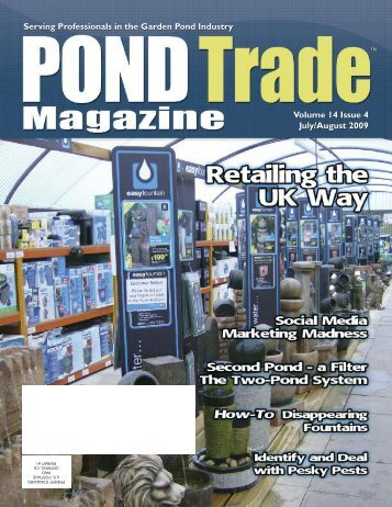 Download the July / August 2009 PDF - Pond Trade Magazine