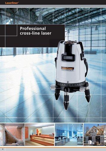 Professional cross-line laser - Spot-on.net