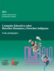 Guía pedagógica - IIDH