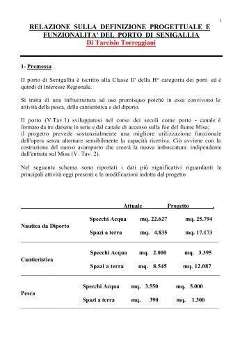 testo relazione - Assonautica di Ancona