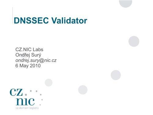 DNSSEC Validator - Cz.NIC