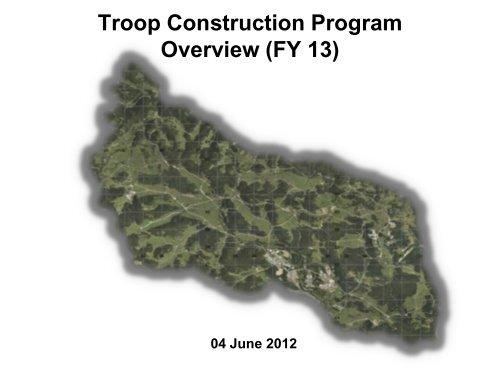Troop Construction Program Brief