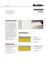BASWAphon Fine systemblad - Rockidan
