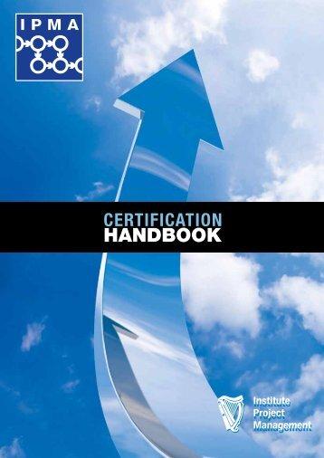Certification Handbook - Institute of Project Management of Ireland