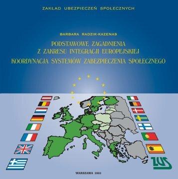 Podstawowe zagadnienia z zakresu integracji europejskiej [PDF 2 ...