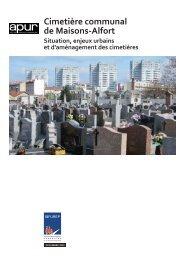 Cimetière communal de Maisons-Alfort – Situation, enjeux ... - Apur
