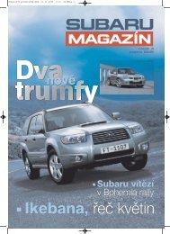 Podzim 2005 - Subaru Brno