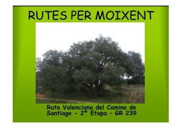 Ruta Valenciana del Camino de Santiago \(2ª Etapa\) - GR ... - Moixent