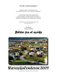 Værøykalender 2009 - værøya.no