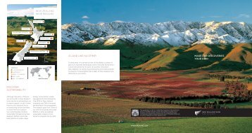 Find out more about New Zealand Wine (PDF, 1.8MB)