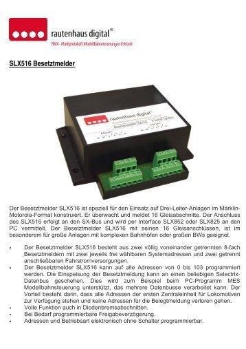SLX516 16-fach Besetztmelder - MDVR