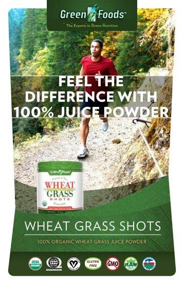 Wheat Grass Shots Product Info