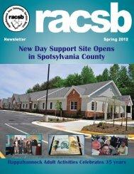 Spring 2012 - Rappahannock Area Community Services Board