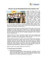 Program Mudik Punya Indosat 2007