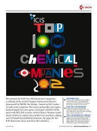 ICIS Top 100 Chemicals Companies 2012