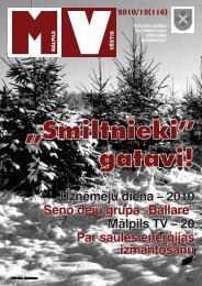 Nr.12 (116) Decembris - Mālpils