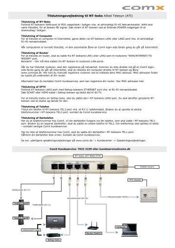 Visio-Tilslutningsvejledning ATI 21-08-2009.vsd - ComX