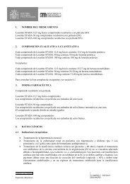 1. NOMBRE DEL MEDICAMENTO Losartán STADA 12,5 mg Inicio ...