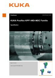 KUKA Posiflex KPF1-MD/-MDC Familie - KUKA Robotics