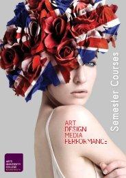 Study Abroad Brochure 2012.pdf - Arts University Bournemouth