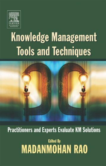 Knowledge Management Tools and Techniques - Vietnam World ...