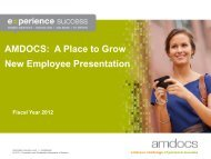 Vacation Cash Out Policy - Amdocs