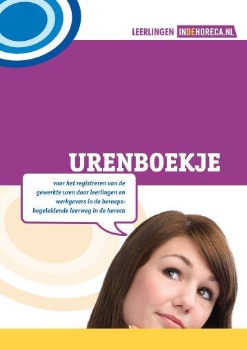 Urenboekje - FNV Horecabond