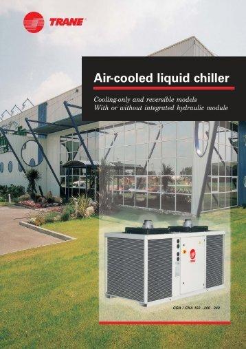 Air-cooled liquid chiller - Dalkia
