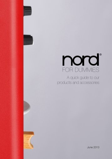 Nord for dummies - Erikson Music