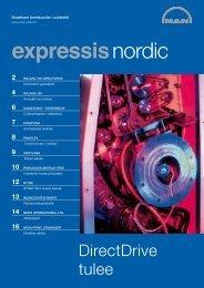 DirectDrive tulee - manroland Nordic Finland Oy