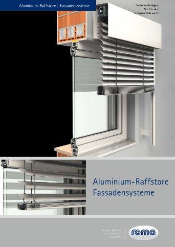 Roma Raffstore Systeme - Weidl Rolladenbau