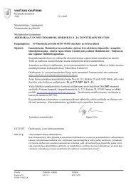 Osallistumis- ja arviointisuunnitelma - Vantaan kaupunki
