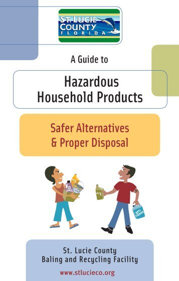 hazardous household products fact sheet