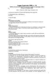 Legge 9 gennaio 2006, n. 14 - Geologi Puglia