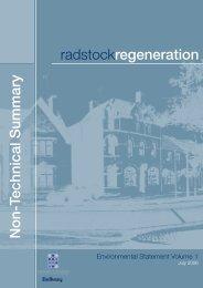 radstockregeneration Non-Technical Summary - Institute of ...