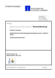 Skriptum - Georg-Simon-Ohm-Hochschule Nürnberg