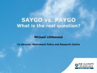SAYGO versus PAYGO, what is the real question
