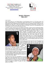 2013-03-DE Butajira-Report - wwevangel.org