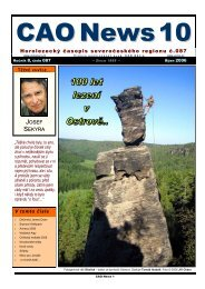 V tomto č ísle Horolezecký časopis ... - Labské pískovce