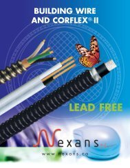 Building wire and corflex ii - Nexans