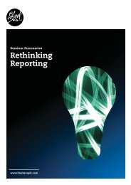 Rethinking Reporting - Black Sun Plc