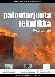Tulipalojen terveyskustannukset - Pelastustieto