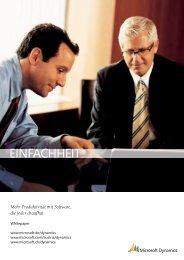 Microsoft Dynamics und SharePoint - BSH-AG