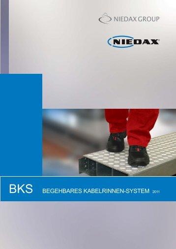 BEGEHBARES KABELRINNEN-SYSTEM 2011