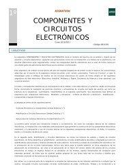 1º componentes y circuitos electrónicos - Departamento de ...