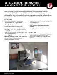 gsims - L-3 Communications