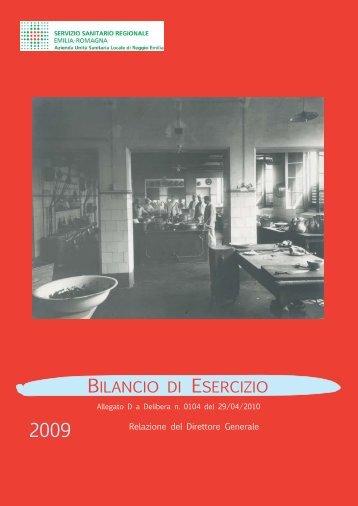 Bilancio d'Esercizio - Azienda USL di Reggio Emilia
