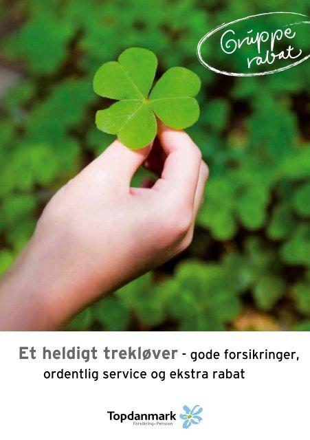 Hent brochure om forsikring i Topdanmark HER