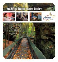 West Virginia Business Resource Directory