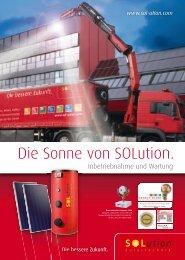 6. Wartung - Solution Solartechnik GmbH